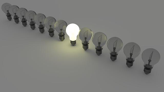 světelné žárovky