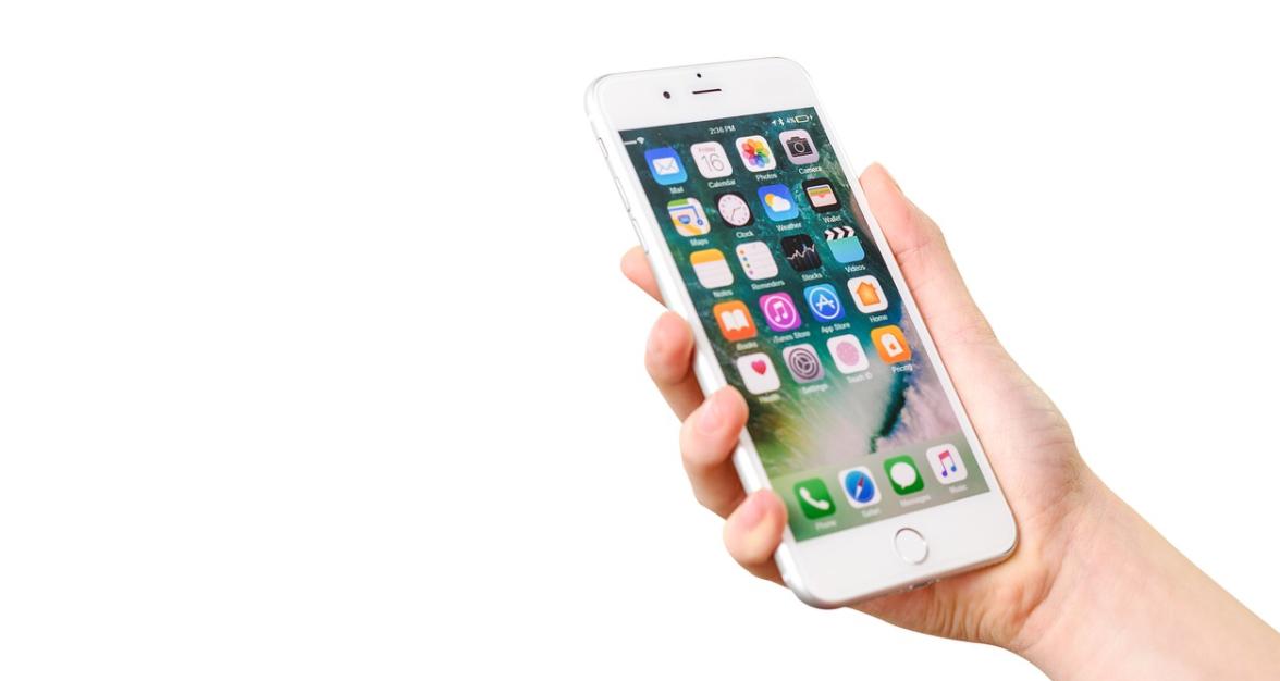 iphone bílý